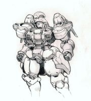 Tallgeese by bluegender1
