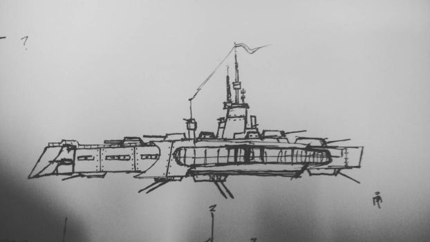 Prototype Airfortress by SirRinge