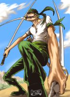 Roronoa Zoro - One Piece by FLMN