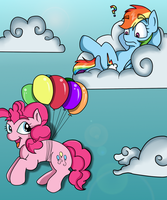 Look Dashie I Can Fly by Muketti