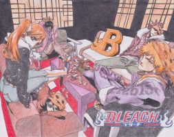 Drawing Challenge: Bleach by swirlingfire1