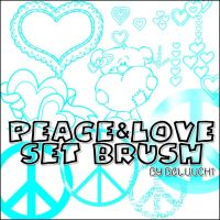 PeaceAndLoveBrush by beluuchi