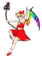 Flandre Scarlet by ninetail-fox