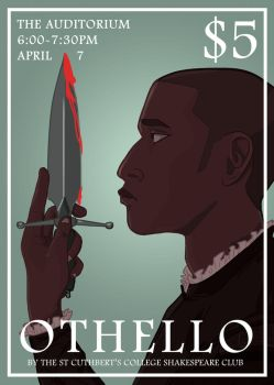 Othello poster by mibellure