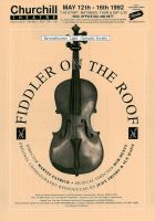 Fiddler on the Roof Poster by legley