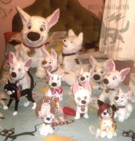 BOLT Plush Collection :Including Unofficial: 2 by BOLTsTrueNo1FanEVER