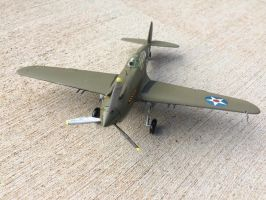 Curtiss P40 Pearl Harbor  Tribute by Jetster1