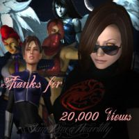 Thanks For 20,000 Views by IamRinoaHeartilly