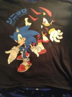 A Sonic T-Shirt by UKD-DAWG