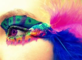 Colors and feathers by Alina-lovely