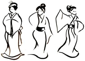 Original: Ink Geishas by zulenha