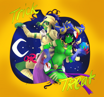 Trick or Treat by jura-chan