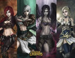 League of Legends Wallpaper 2 by Penator