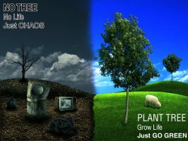 Go Green Poster by cesterical