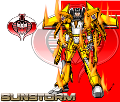 Sunstorm, Cyborg-Powered by skywarp-2