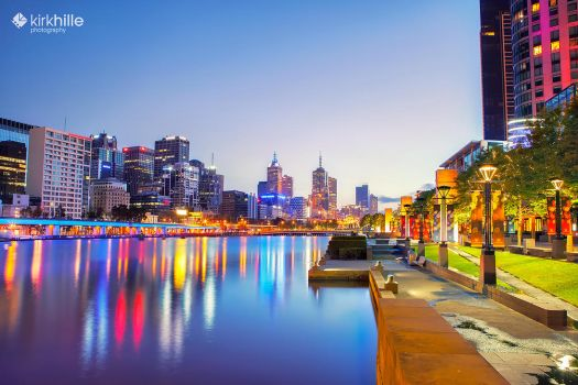 Melbourne Lights by Furiousxr