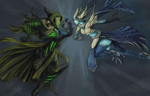 Dwayna Vs Grenth 8 by JNetRocks