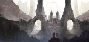 City Ruins on Mars by thomden