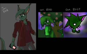 2009-2013 Improvement by AgentCharles