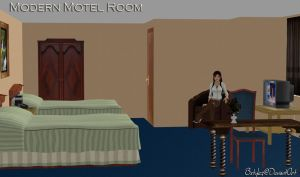 Modern Motel Room (Updated) by bstylez