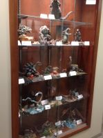 One of the exhibit cabinets by Legrandzilla