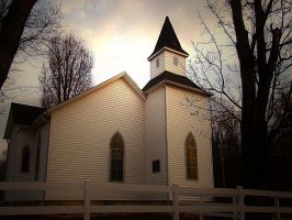 Little Country Church by jmarie1210