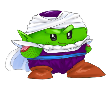 Piccolo as Kirby / charity collab by katagro