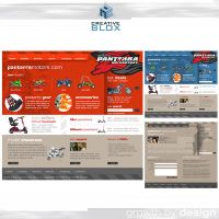 PanTerra motors site design by creativeblox