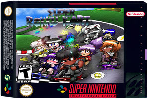 Super Rokku Kart on SNES by Rokku-D