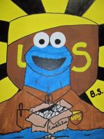 UPS Cookie Monster by sampson1721