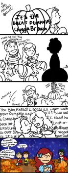 It's the Great Pumpkin, Chugga Brown! by ThatOneNPC
