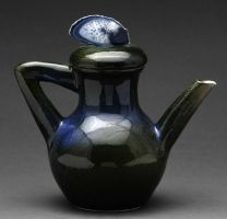 blue green teapot by cl2007