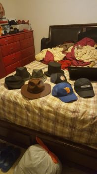My Hats Collections by ColtonthePhantom