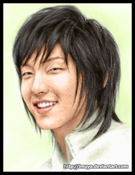 2nd colored Lee Jun Ki by imuya