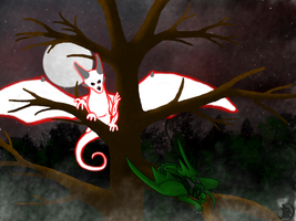 Sleep Tightly, Dragon~ by DragonThunderstorm