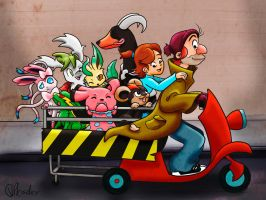 Oliver and Company by VibaFleischer