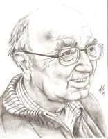 Portrait of my grand father by dawn-is-dead