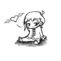 chibi line by Frenchielover4ever