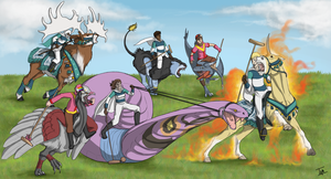 ER Polo Match 1 by TamHorse