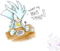 Silver wants his Iblis Trigger by BlizzardWolf