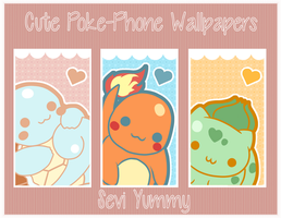 Cutes Poke-Phone Wallpapers by SeviYummy