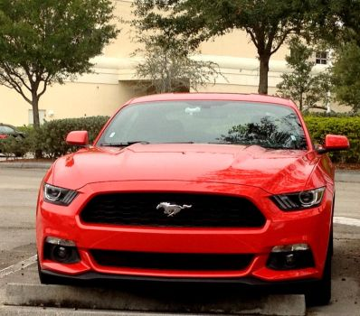2015 Mustang-FrontEnd by redconvoy