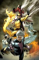 Ultimate XMEN 01. by MarteGracia