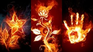 fire art by natyre