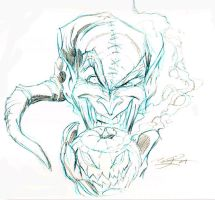 Green Goblin Sketch by millsy1c