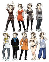 meago various clothes by meago
