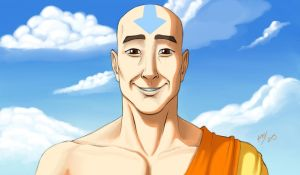 Smile, Aang! by HatterMatter