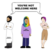 You're Not Welcome Here by DontNeedFeminism