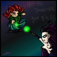 Molly vs. Bella -spoiler- by twilinympho