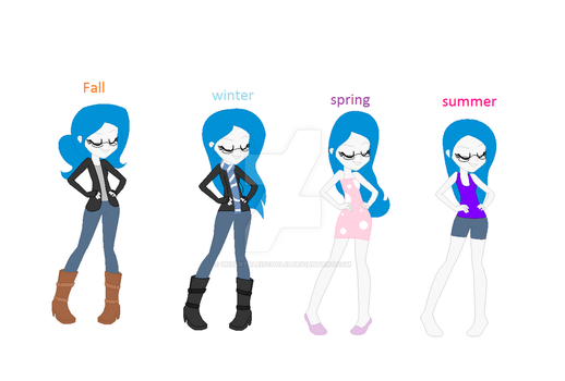 My season clothes by Undertaleiscool13